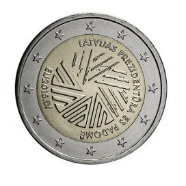 2 euro Lettonie 2015 Presidence UE