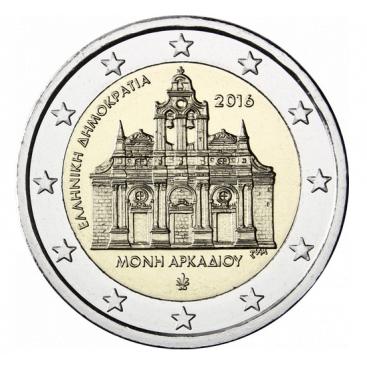 2 euro Grèce 2016 Monastère Arkadi