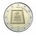 2 Euro Malte 2015 -Republique 1974