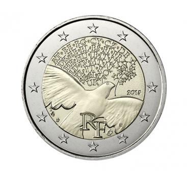 2 Euro France 2015 - 70 ans de la Paix