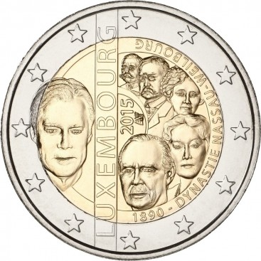2 Euro Luxembourg 2015 N°2