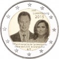 2 euro commemorative Luxembourg 2015