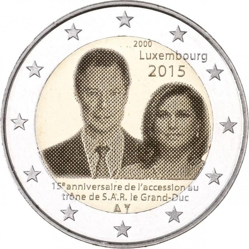 2 euro commemorative luxembourg 2015. Black Bedroom Furniture Sets. Home Design Ideas