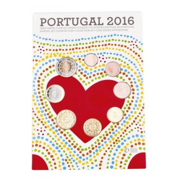 Coffret FDC Portugal 2016