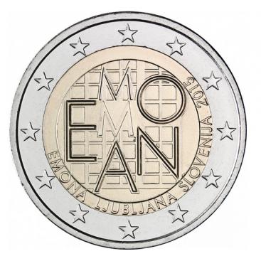 2 Euro Slovenie 2015 Emona