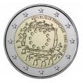 2 Euro France 2015 Drapeau