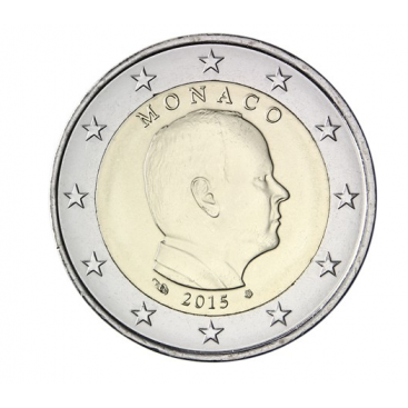 2 Euros Monaco 2015