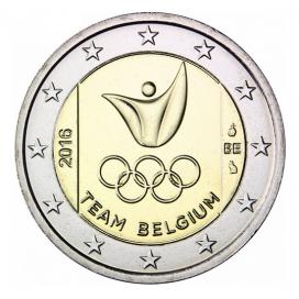 2 Euro Belgique 2016 Jeux Olympiques