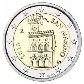 2 euro courante Saint Marin 2016