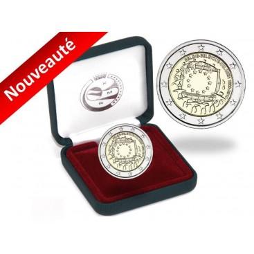 2 Euro BE Belgique 2015 - Drapeau