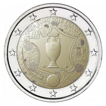 2 Euros France 2016 UEFA