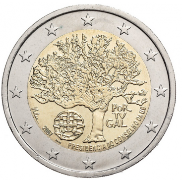 2 Euro Portugal 2007 Présidence UE