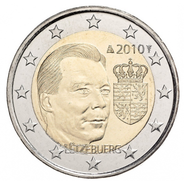 2 Euro commémorative luxembourg 2010