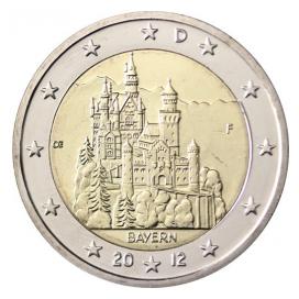 2 Euro ALLEMAGNE 2012 Baviere