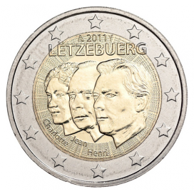 2 Euro LUXEMBOURG 2011 Grand Duc Jean