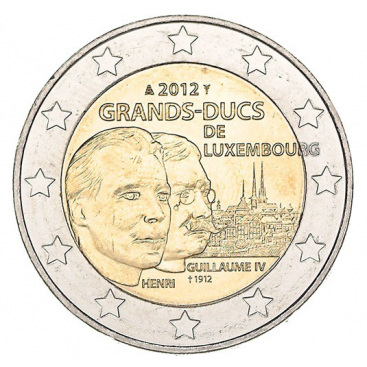 2 Euro Luxembourg 2012 Grand duc Guillaume IV