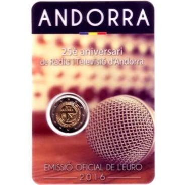 2 Euro Andorre 2016 Radio et Television