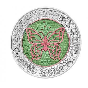 25 Euro Autriche Nobium 2017