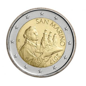 2 Euro Saint Marin 2017 Nouvelle effigie