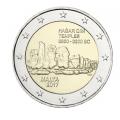 Coincard 2 Euro Malte 2017 Hagar Qim