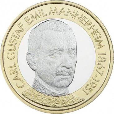 5 Euro Finlande 2017 Président