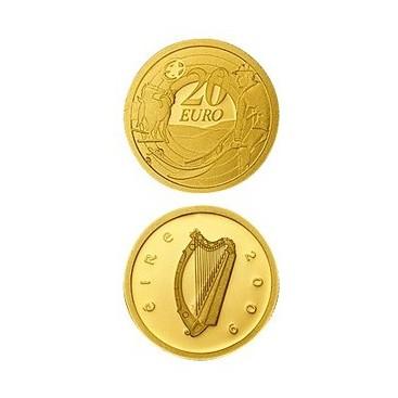 20 Euros IRLANDE 2009