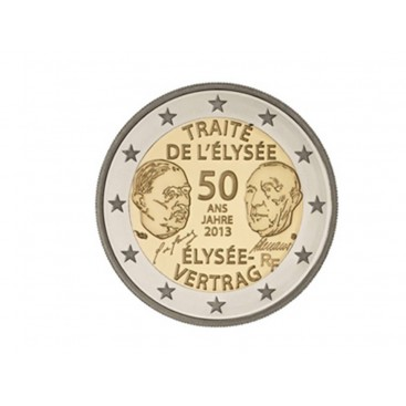 2 Euro France 2013 Traité de Elysée