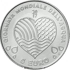5 Euro Saint Marin 2017 Acqua