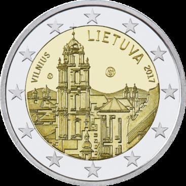 2 Euro Lituanie 2017 Vilnius
