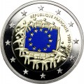 2 Euro France BE 2015 - Drapeau