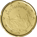 1€ + 20 cts St Marin 2017