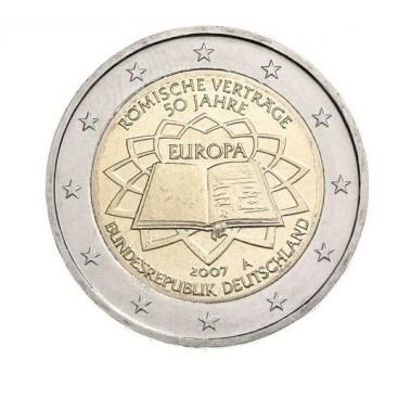 2 Euro Allemagne 2007 Traité de Rome