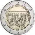 2 Euro Malte 2012 Majorité