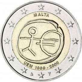 2 Euro Malte EMU 2009