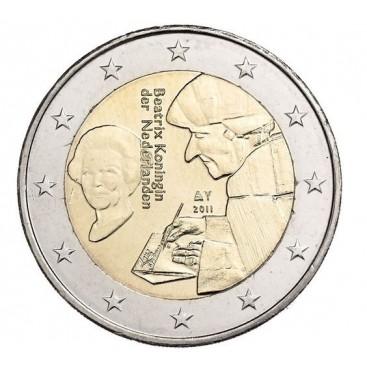 2 Euro Pays bas 2011 Erasmus