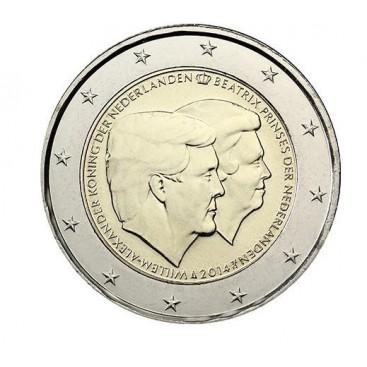 2 euro commémorative PAYS BAS 2014