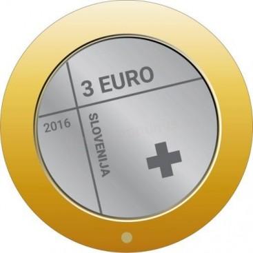 3 euro Slovénie 2016