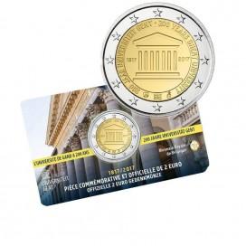 Coincard Francaise 2 Euro Belgique 2017 Université de Gand