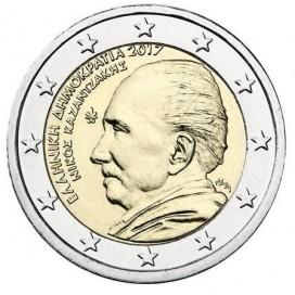 2 Euro Grèce 2017 Nikos Kazantzakis