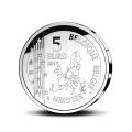 5 Euro Belgique 2017 Gaston Lagaff