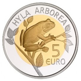 5 Euro Luxembourg 2017 RAINETTE VERTE