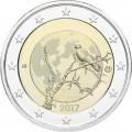 2 Euro Finlande 2017 Nature
