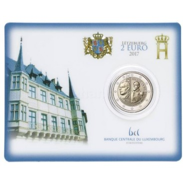 Coincard 2 euro Luxembourg 2017 n°2