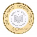 40 Cents Luxembourg 2017