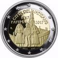 2 Euro BE Vatican 2017 100e Anniversaire des apparitions de Fatima