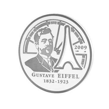 10 Euro ARG Gustave Eiffel 2009 - BE
