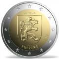 2 Euro Lettonie 2017 Les Armoiries de Kurzeme