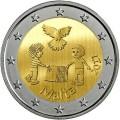 2 Euro Malte 2017 La paix
