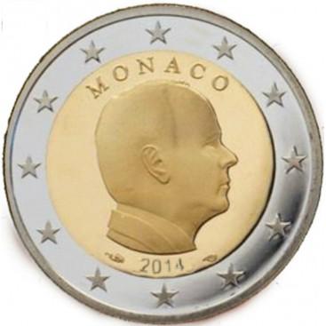 2 Euro Monaco Albert 2014