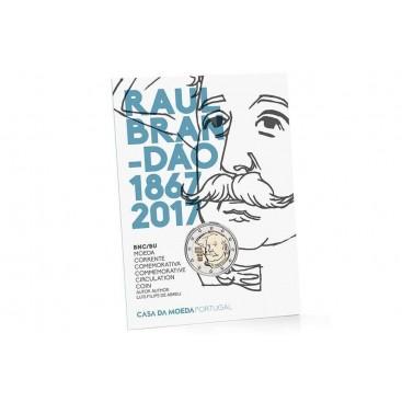 Coincard BU 2 Euro Portugal 2017 Raul Brandao
